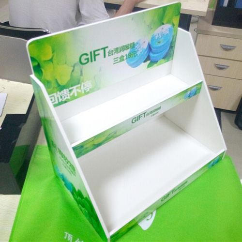 POS pvc foam board counter display manufacturers-1