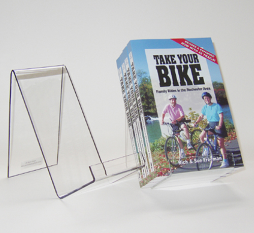 China Arylic Book Display Rack Supplier