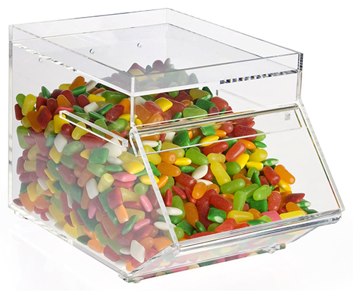 Acrylic Candy Bar Display Rack