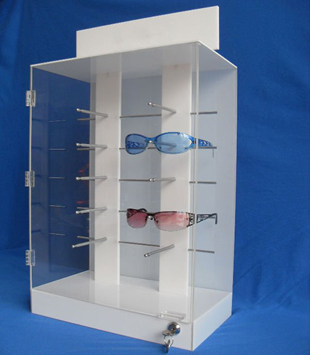 China Acrylic Glasses Display Rack Supplier