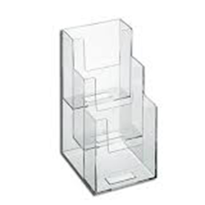 Acrylic Magazine Display Rack