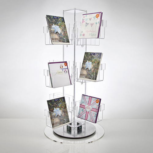 Acrylic Note Card Display Rack