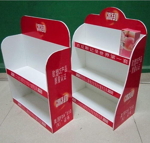 Custom Made POP Counter Forex Board Display Racks
