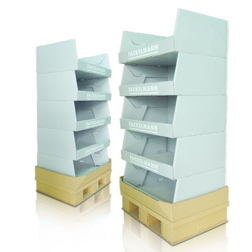 Point of Sale Cardboard Pallet Bins
