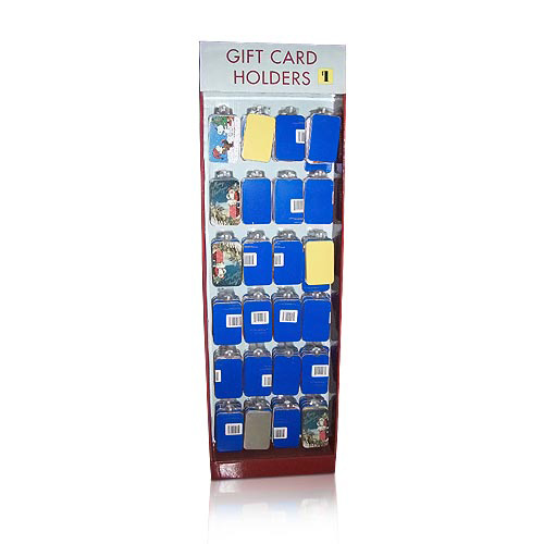 Point of Purchase Retail Product Cardboard Peg Hook Display
