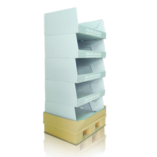 Point of Sale Cardboard Pallet Bins China Factory
