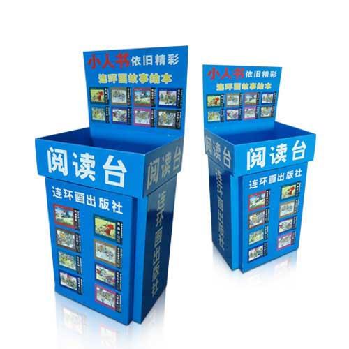 Free Standing POP Cardboard Dump Bin