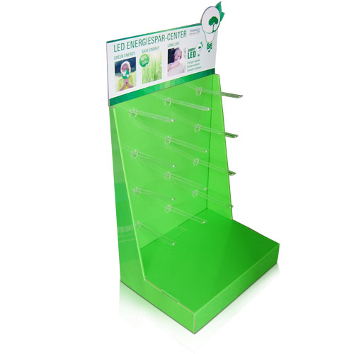 Retail Store Exhibition Cardboard Sidekick Stands