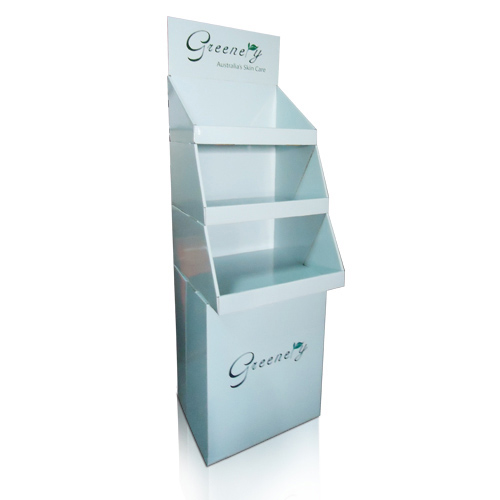Retail Store Corrugated Poster Display Shelves