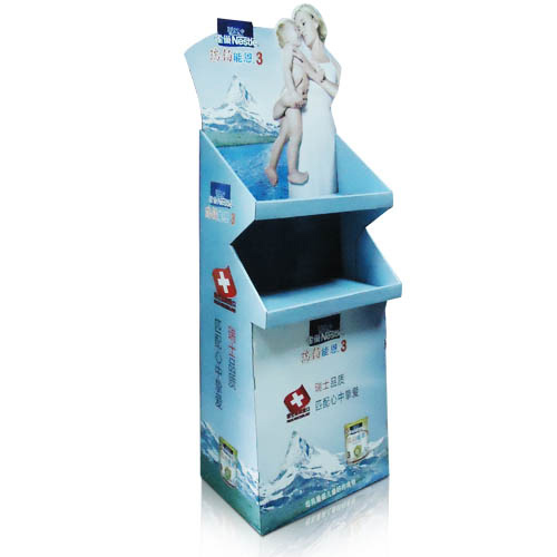 Promotional Cardboard Display Shelf