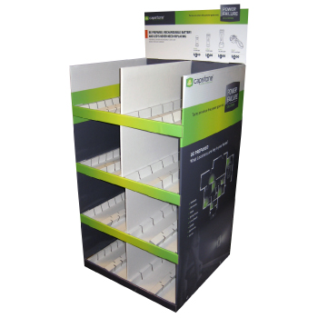 Point of Purchase Corrugated Cardboard Display Cases