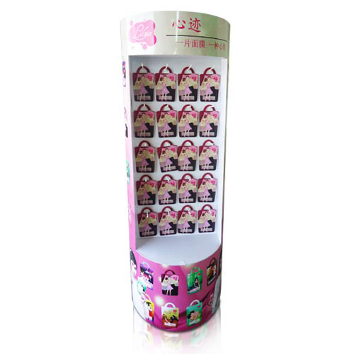 Customized Promotion Corrugated Cardboard Retail Sidekick Display
