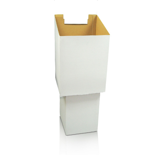 Cardboard Postcard Display Stand Shelf