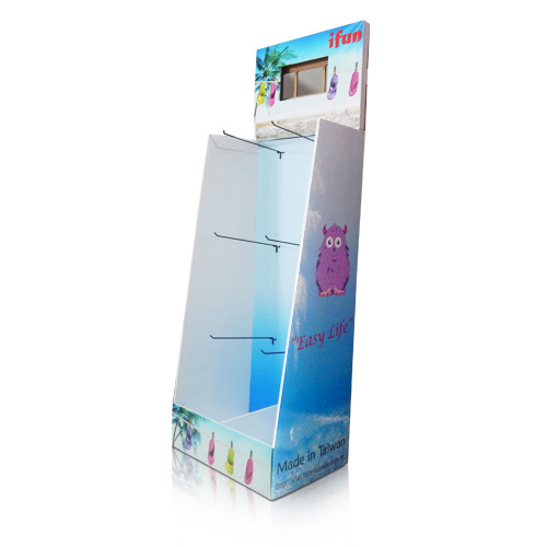 Point of Purchase Corrugated Sidekick Retail Displays