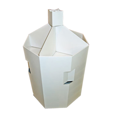 Corrugated Cardboard Retail Display Dump Bins