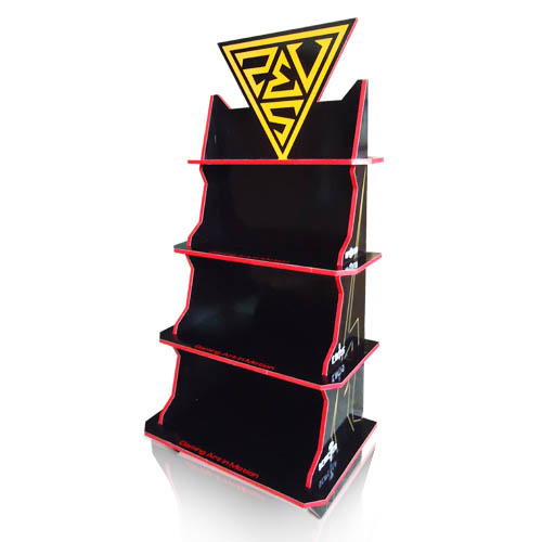 Point of Sale Cardboard Display Shelves