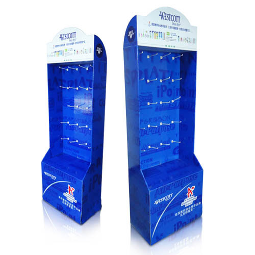 POS Supermarket Walmart Corrugated Sidekick Display Units
