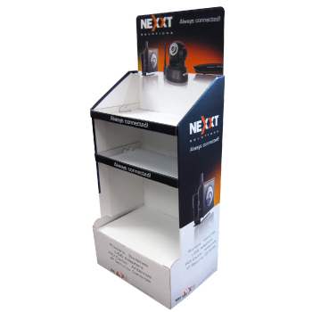 Custom Retail Cardboard Display Cases