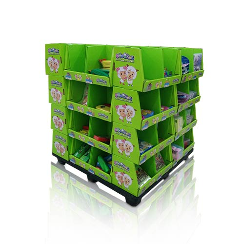 Point of Sale Corrugated Pallet Dump Bin