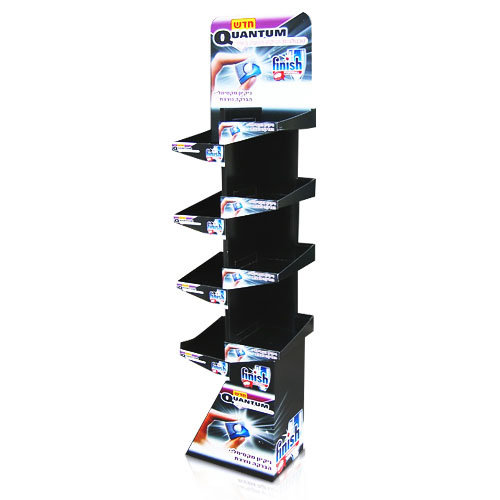 Custom Cardboard Magazine Holder Display Shelf China Supplier
