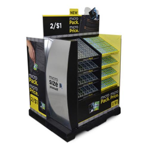 Creative Retail Cardboard Retail Pallet Displays