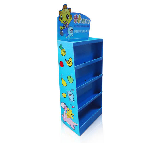 Branded Toys Point of Purchase Advertising Display Shelf