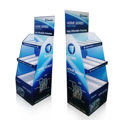 Fashion Cardboard Material Display Stand Shelf for Retail