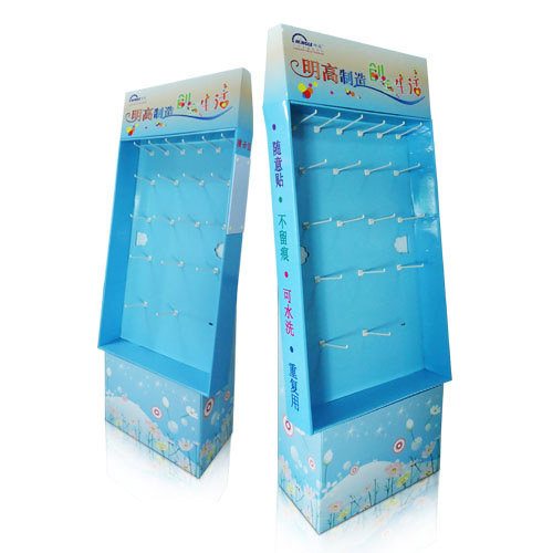 Promotional POP Walmart Corrugated Sidekick Display Racks