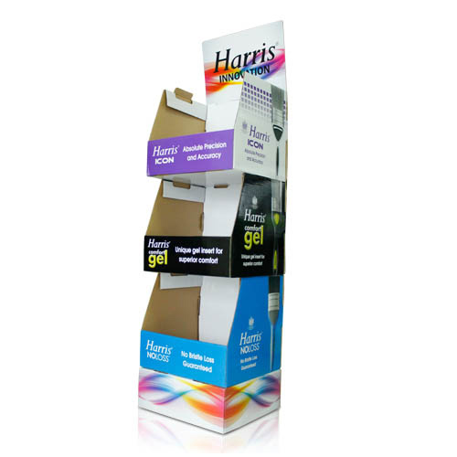 Point of Purchase Cardboard Half Pallet Display Manufacturers
