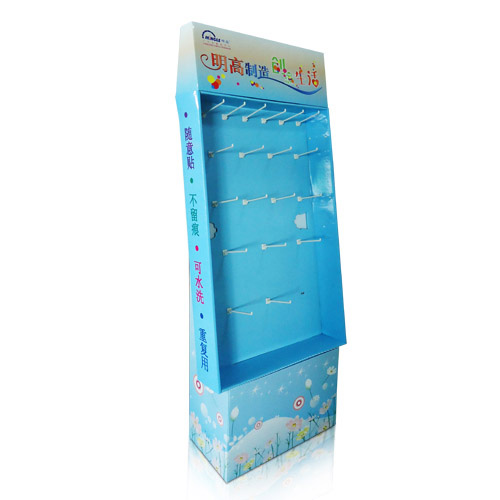 Promotional POP Walmart Corrugated Sidekick Display Racks China Factory