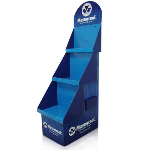 POS Supermarket Cardboard Display Stands Shelf