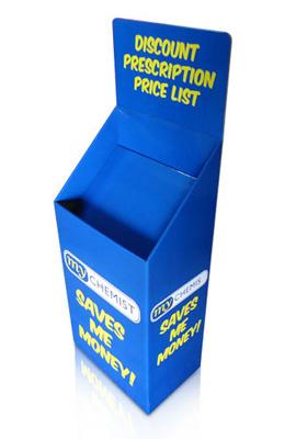 Custom Promotion Free POS Corrugated Pallet Dump Bin