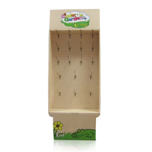 Festival Point of Sale Cardboard Hook Display