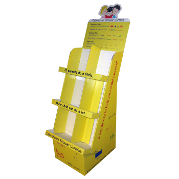 Cardboard Display Stands for Cards