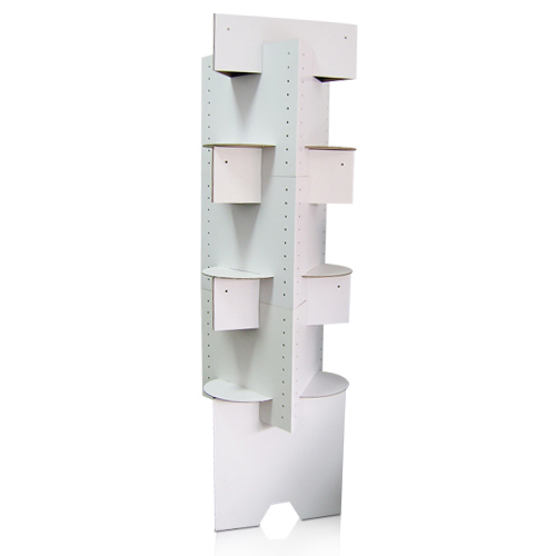 Grocery Store Retail Cardboard Display Shelf China Factory