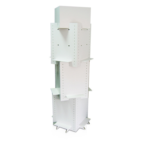 Grocery Store Retail Cardboard Display Shelf China Factory