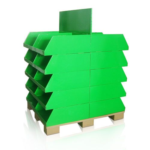 Point of Purchase Corrugated Paper Pallet